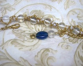 SALE -was 24 dollars- Ariadne's Piece of the Night Sky - Bracelet -
