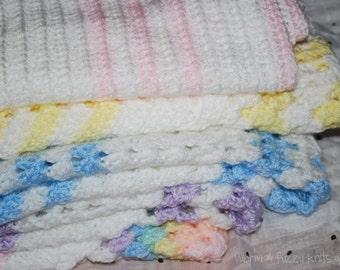 Pastel Baby Blanket