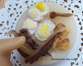 Bacon and eggs breakfast platter...Made to order