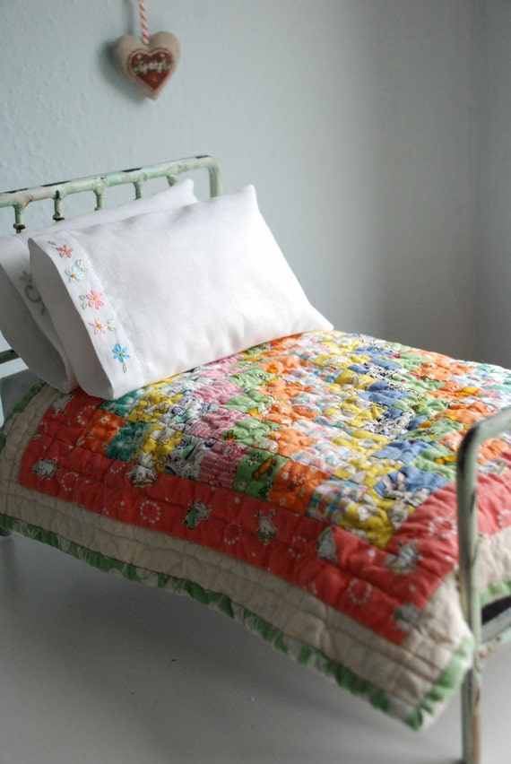 Beautiful old fashioned Blythe Quilt