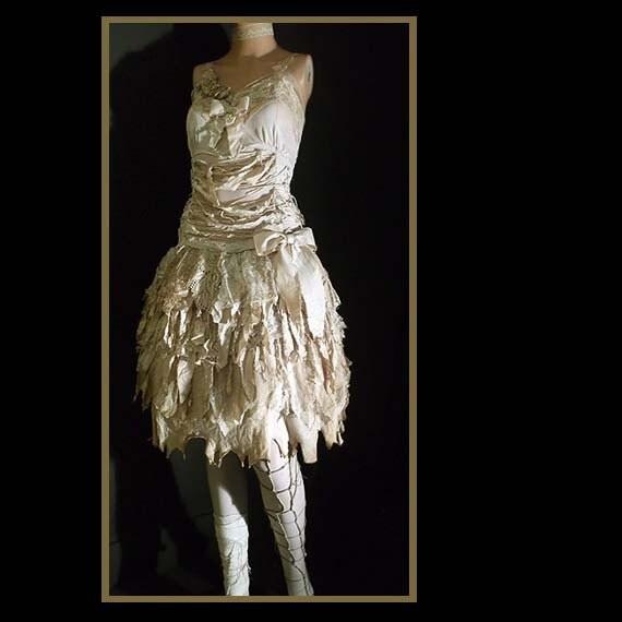 wearydreary apocalyptic rag dolly tea dress