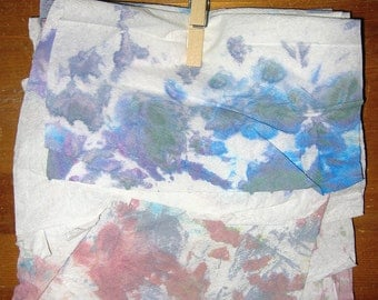 Dyed Paper Towel Pack