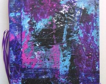 8 x 10 Painted Art Journal 1