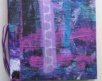 8 x 10 Painted Art Journal 4