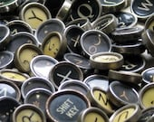 Vintage Typewriter Keys - Bulk Lot