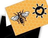 Half Off - Bee Mine Valentine Card