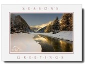 Winters Charm II Season's Greetings Fine Art Photography Card 5X7