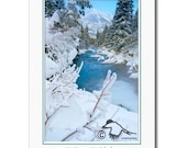 Winter on Cameron \/ Happy Holidays Fine Art Photography Card 5X7