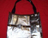 GO GREEN Eco Friendly Purse made with Recycled STARBUCKS Pike Place Roast bags