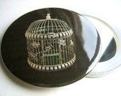 pocket mirror birdcage