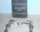 Vintage Kohler Faucet - Kohler Faucet Set In Original Box - Faucet Handles - Faucet Parts - Bathroom Sink Faucet Set