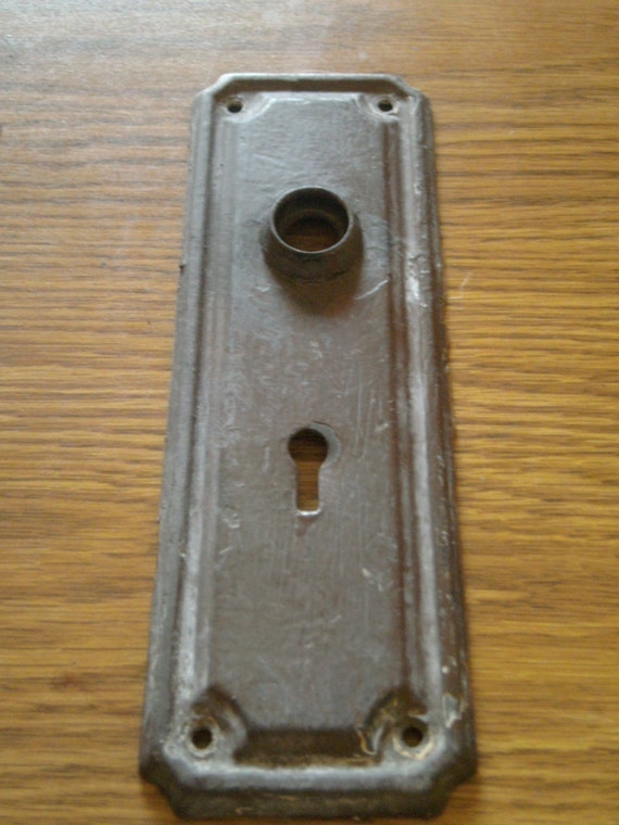 Antique Door Face Plate Escutcheon