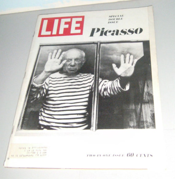 Vintage LIFE Magazine Picasso Cover December 1968 Campbells Soup Ad Inside