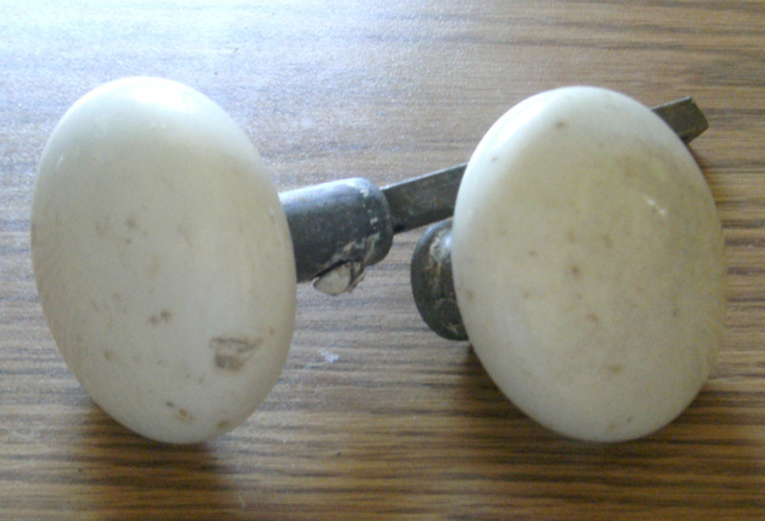 Porcelain Door Knobs Antique White Porcelain Door Knobs On