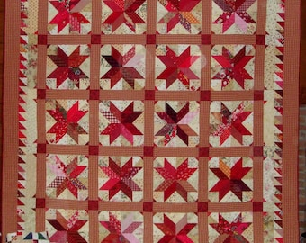 Hunter's Star - Big Red Quilt