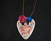 Jimi Hendrix Guitar Pick Necklace