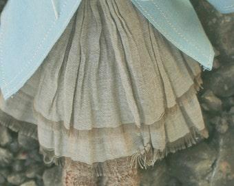 jiajiadoll-camel beruffled skirt-for momoko or blythe or misaki