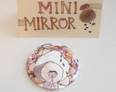 Arctic Girl Mini Mirror
