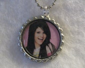 Selena Gomez Bottlecap Necklace No1