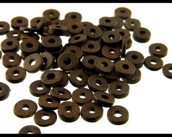 Greek Ceramic - Round Washers 6mm - GK159
