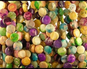 DYED AFRICAN OPALS - gm198