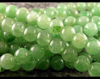 Green Aventurine 10mm Round - GM313