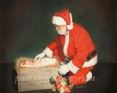 The True Reason for the Season 11 x 14 print-        Must See Up Close- FREE SHIPPING this WEEK