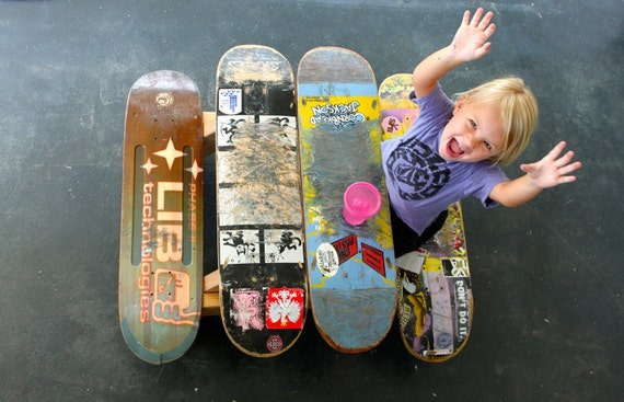 Children's Skateboard Picnic Table PDF