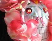 Dia de los Muertos Sugar Skull Fascinator Headband