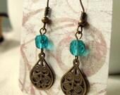 Earrings Vintage Drops