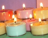 CINNAMON AND BALSAM - One Dozen Vegan Soy Tealights