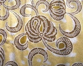 RESERVED FOR SUEMUSS, 2 YARDS OF YELLOW BLOSSOM WOODIN
