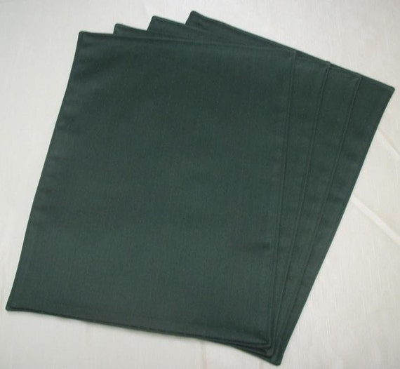 Forest Green Placemats (Set of 4)