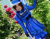 Blue Dutchess Aristocrat Costume (gently used)