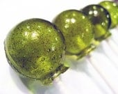 Spiced pear ball style lollipops - 6 pc. by Vintage Confections - MADE TO ORDER
