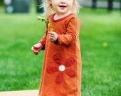 Organic  Flower Dress for Kids
