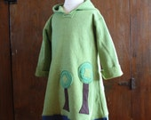 Earth Day Organic Tree Hugger Hoodie Long