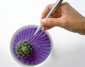 Mini Cactus Lost In Zen - Purple