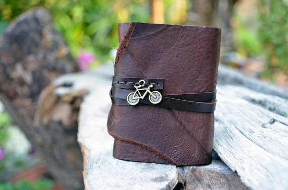 S.A.L.E MiniBook  A8 Bicycle &  Brown leather