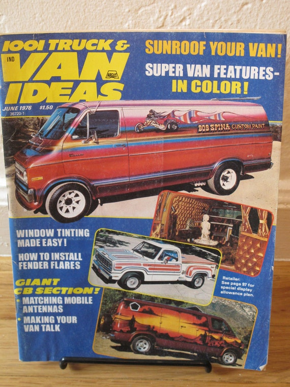 1001 Truck and Van Ideas Magazine August 1978