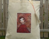 Tote bag with Purplecat Artwork on - you choose the design