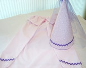 Royal Princess Cape and Hat Set