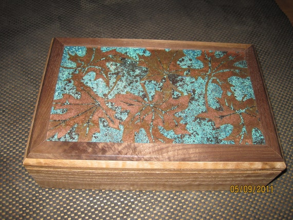 Copper Leaf Series Tercero Jewelry Box