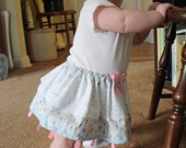 Twirl Tag Baby Skirt Size 6 to 18 months Pastels.- SALE -
