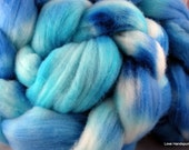 Ocean View - Hand Dyed Merino Roving - Eco Friendly Dyes 4 oz.