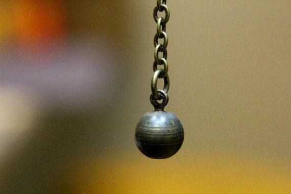 Personal Wrecking Ball Necklace 2008