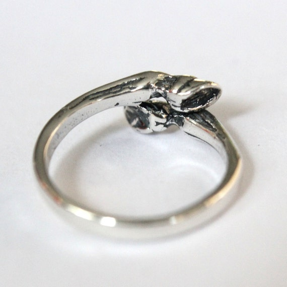 Horse Hoof Ring in Sterling Silver 324