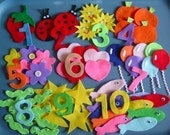 Numbers Children's Flannel Board Felt Set