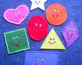 Super Shapes Flannel Board Felt Story