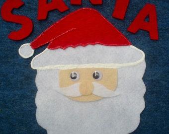 Santa (Bingo) Flannel Board Felt Story